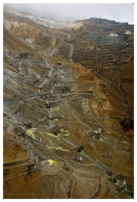 Sulfur Mine - Lake Ashi
