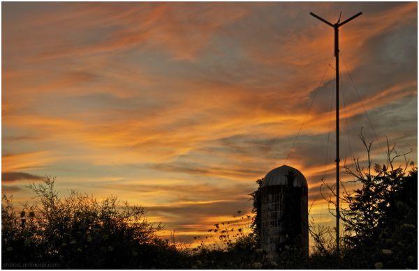 Sunset Series (5) - Silo/Mill