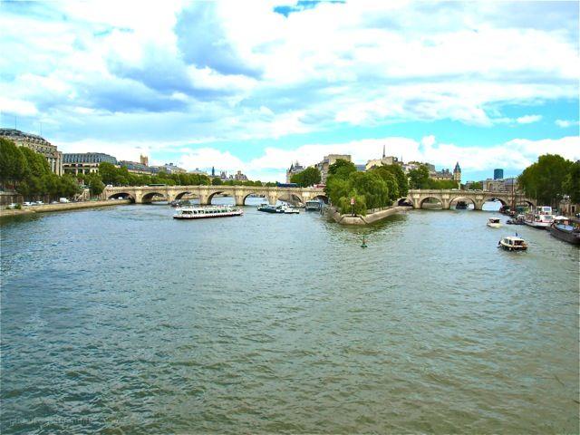 Ile de la Cite, Paris