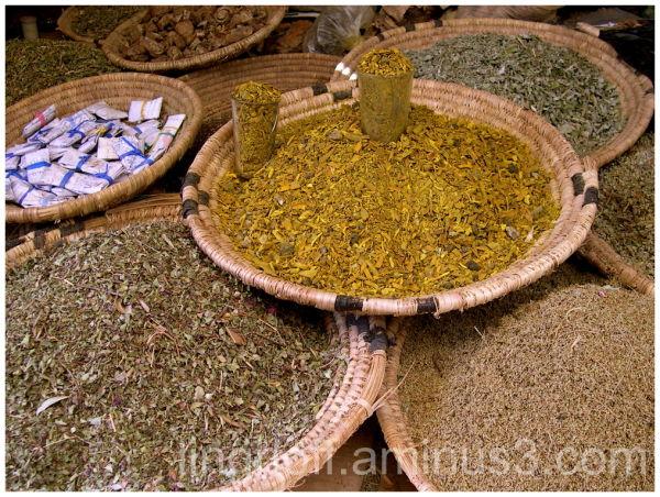 dried herbs morocco marocko torkade örter