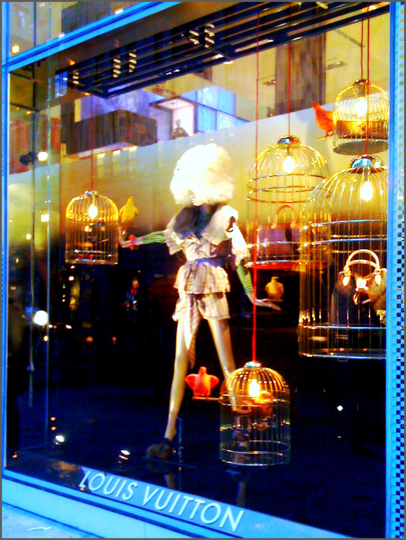 Louis Vuitton Window in NYC