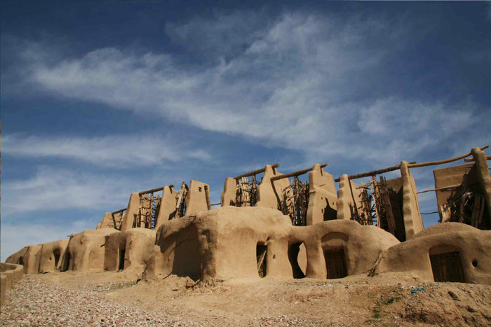 nashtifan architecture iran mill wind