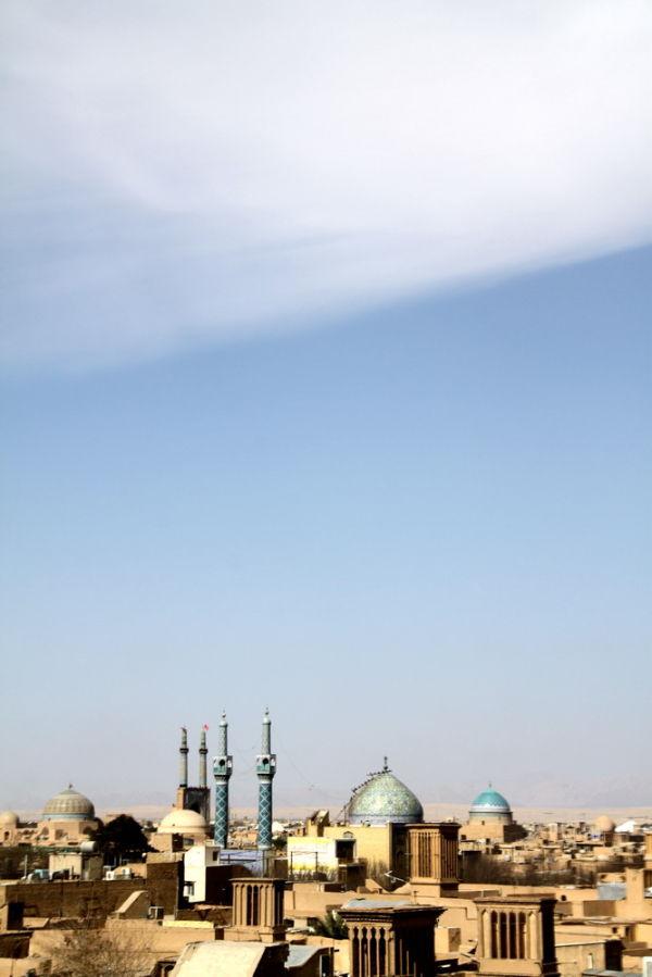 Yazd-Sunny noon