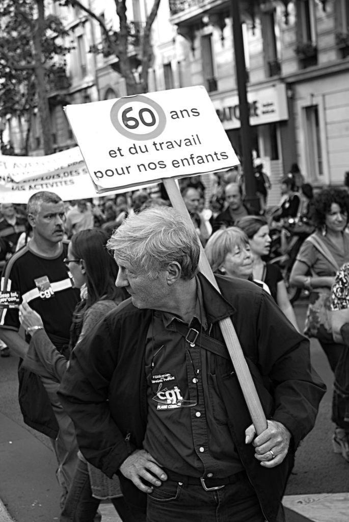 Huelga general en Paris