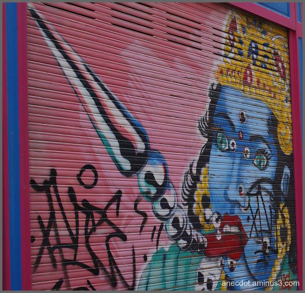 La princesse bleue ... (Lille, Paris)