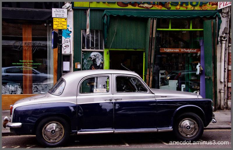 Londres (16) ... la Rover de Notting Hill