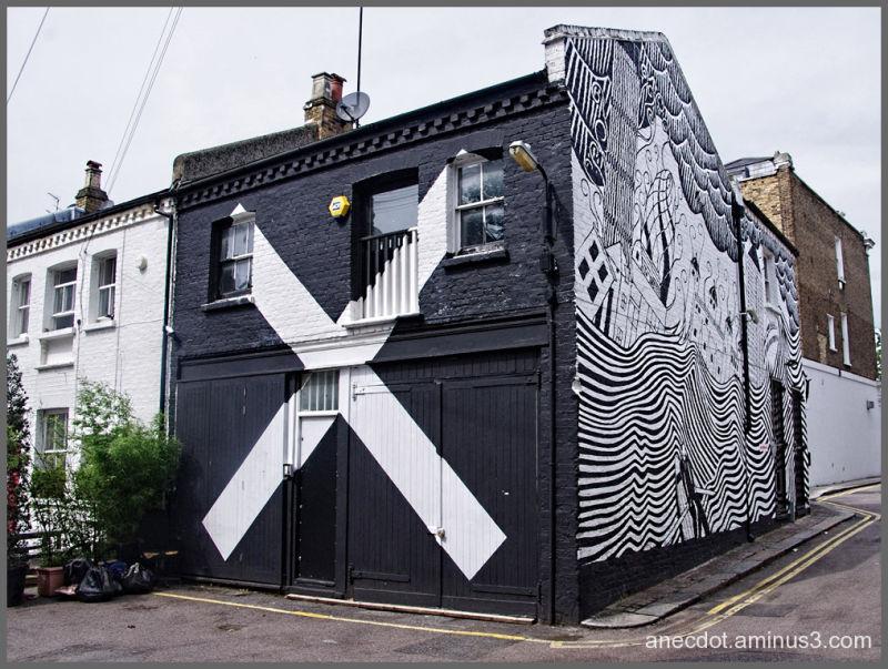 Londres (17) ... noir et blanc et ... couleurs (1)