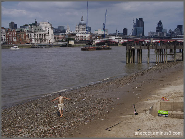 Londres (21) ... the beach (1/2)