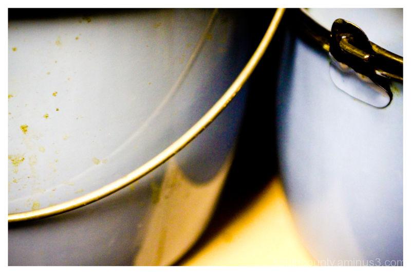 Blue Bisbee Pots