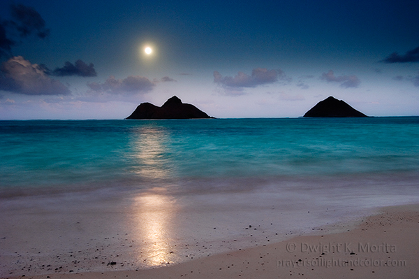 Moonrise Over Mokulua Islands