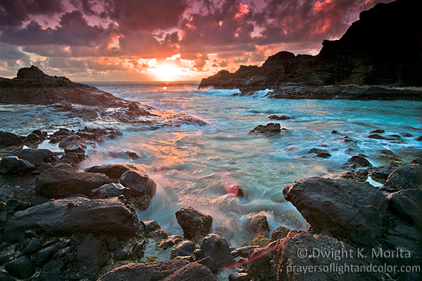 Sunrise - Halona Cove, From Here to Eternity Beach