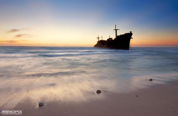 Greek ship (Kish island - IRAN)