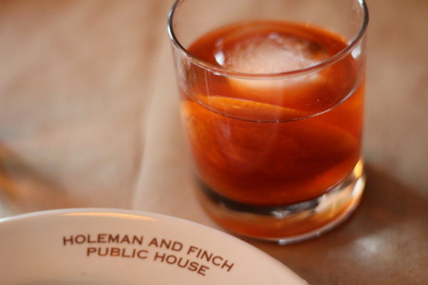 Old Fashioned at Holeman & Finch