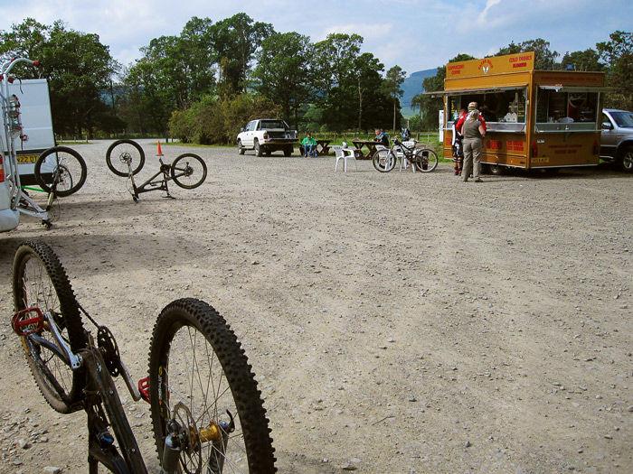 Bike park in Innerleithen