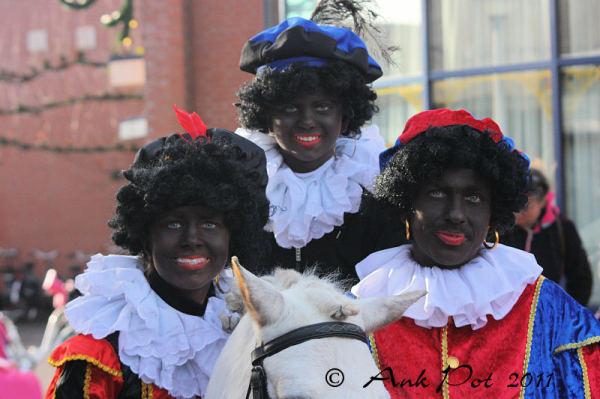 Three little Black Peters