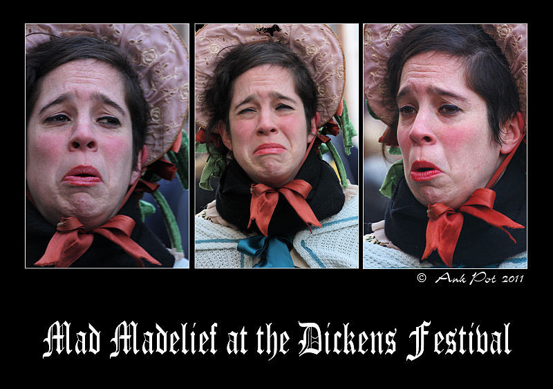 Portraie of Madelief at Dickens Festival