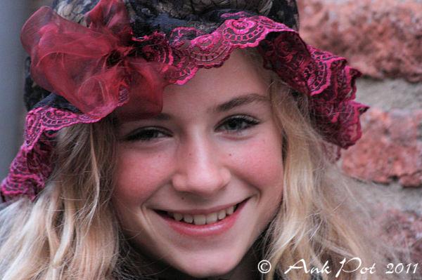 Stolen portrait of girl