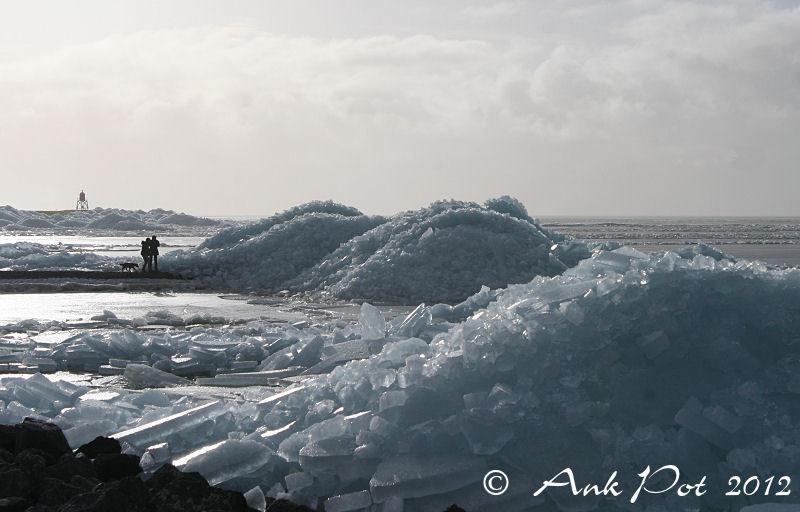 Drifting ice in Stavoren
