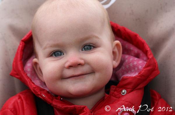 smiling babygirl