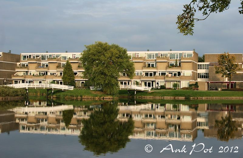 reflection of appartments