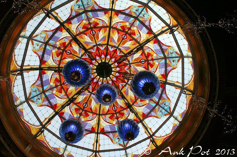 Dome in shoppingcentre