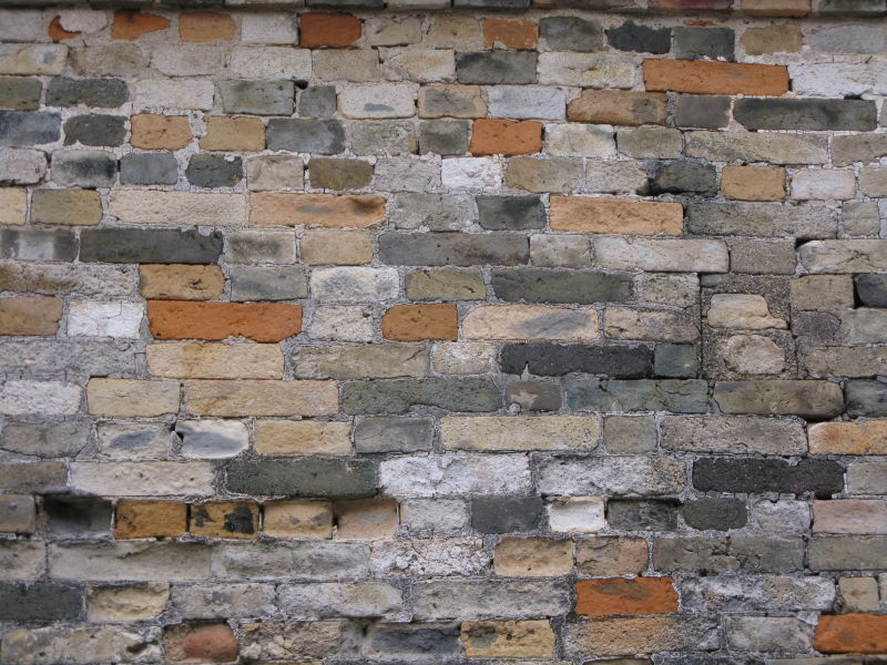 brick variety wall