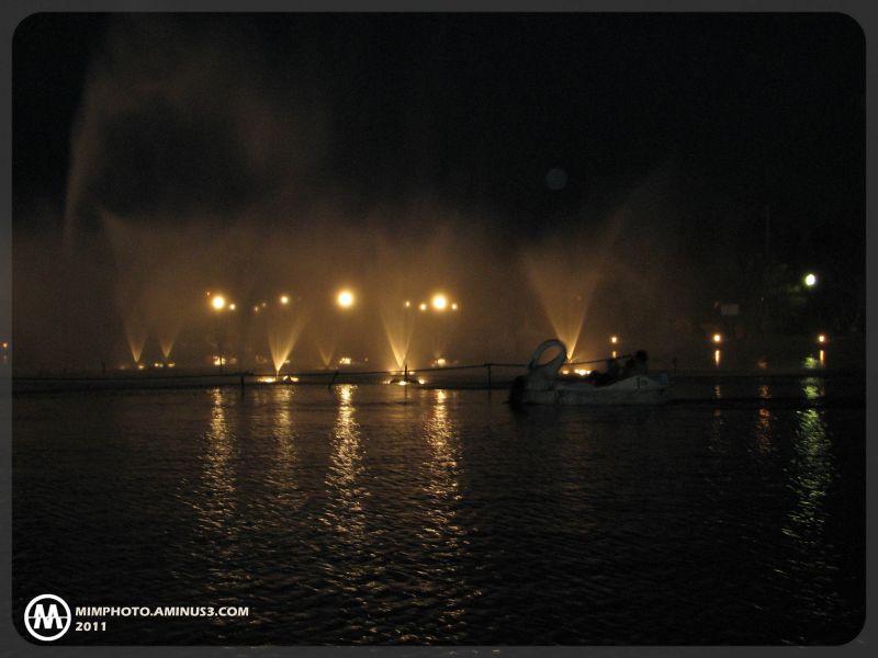 دریاچه ارگ جدید-بم