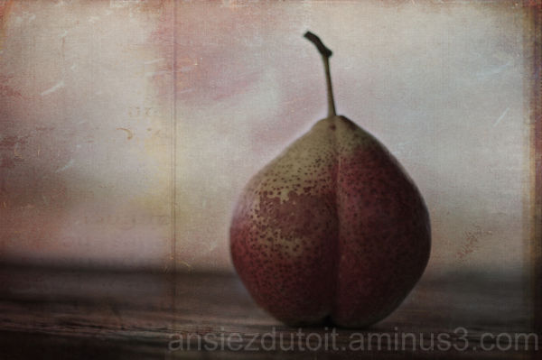 my textured pear!