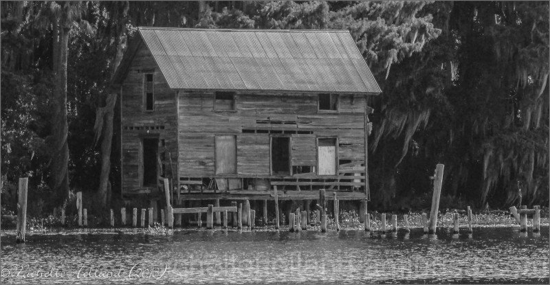 Dilapidated House on the St. Johns River