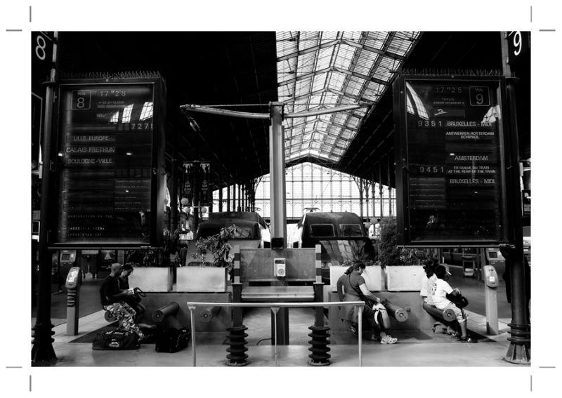 Ma gare du nord : Le tgv ou Le thalys ?