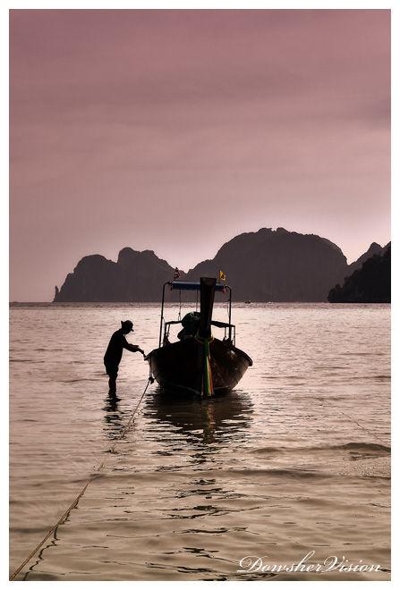 Fin De Journée à Koh Phi Phi