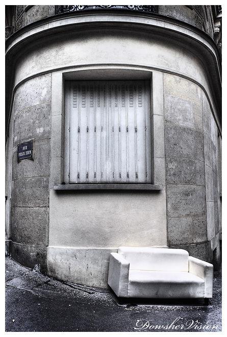 Angle de la rue Félix Ziem et de la rue Damrémont