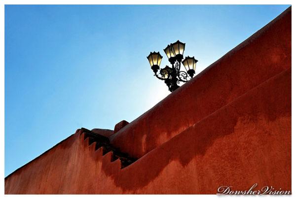 Derrière le Mur, le Palais du Roi. Marrakech