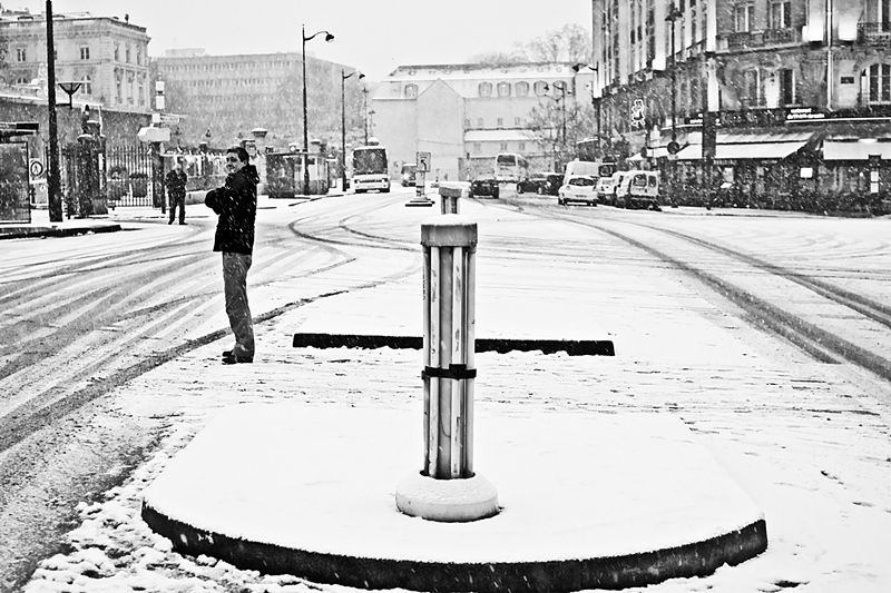 Déambulation.......................sous la neige !