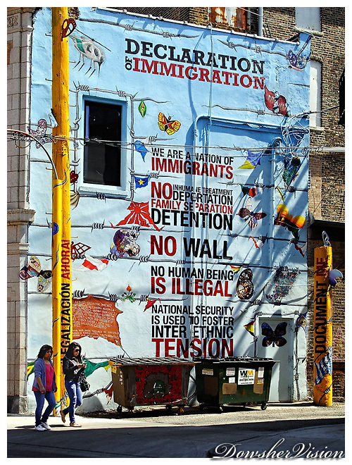 Walls / Declaration of  Immigration