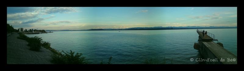Vue sur le lac de Neuchâtel