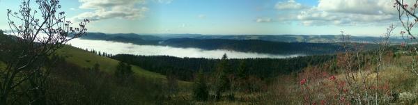 Mer de brouillard sur la Vallée de La Sagne (3)