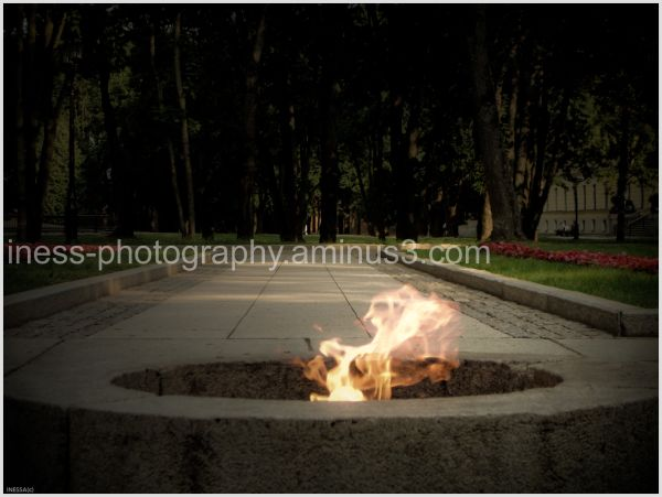 The  flame..... for those who got buried