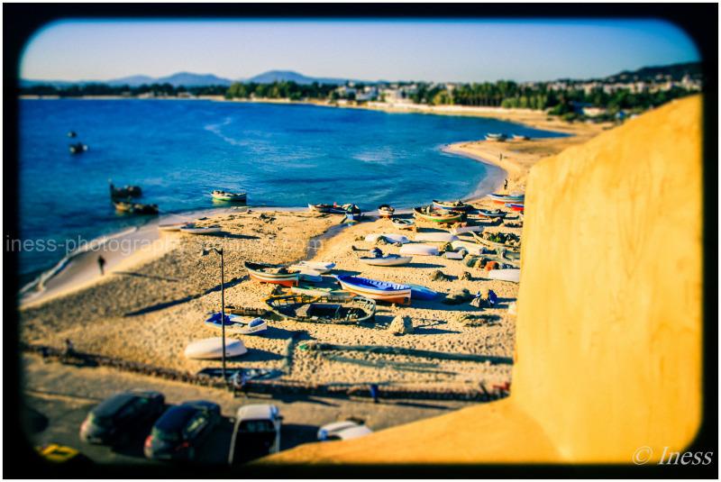 Seaside of Hammamet center