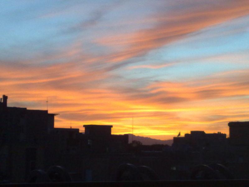 Magical sunset , ...