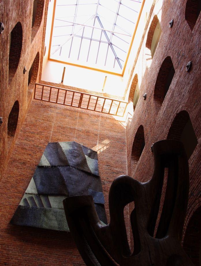 A shot from inside the Musée des Beaux Arts