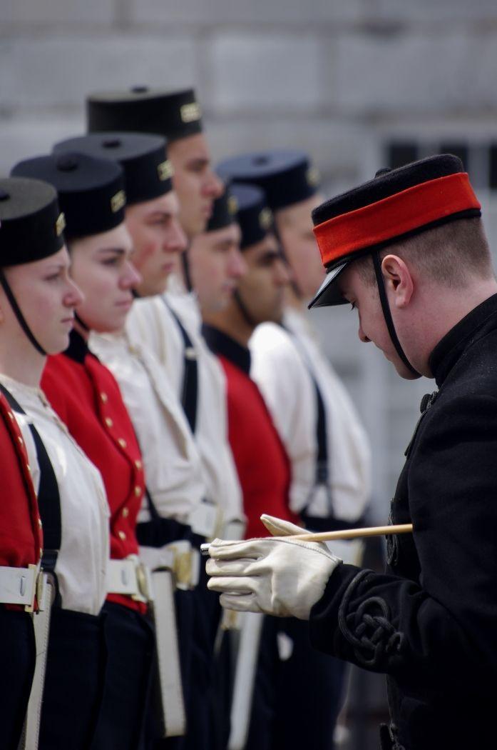 Recruits training