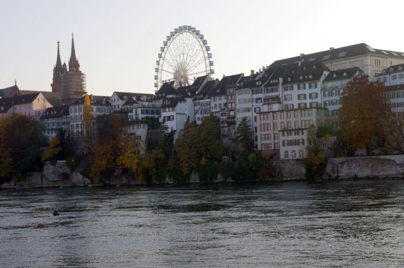 Basel riverside