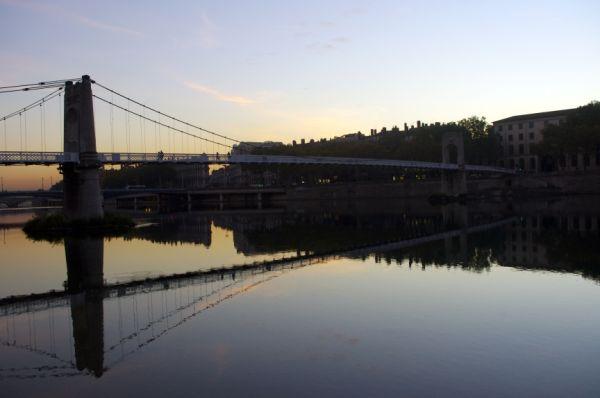 My favourite bridge in Lyon