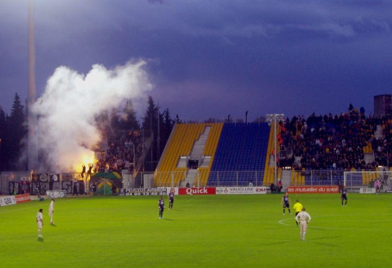 Rowdy Bordeaux fans