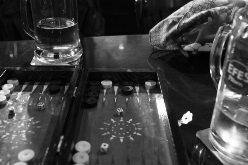 Pub backgammon