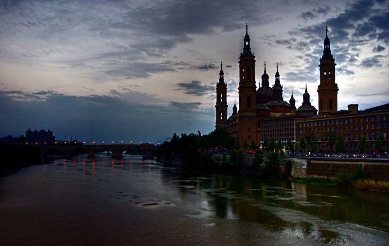 A view of Zaragoza