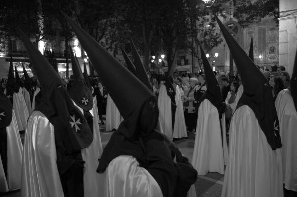 An Easter procession in Zaragoza, Spain