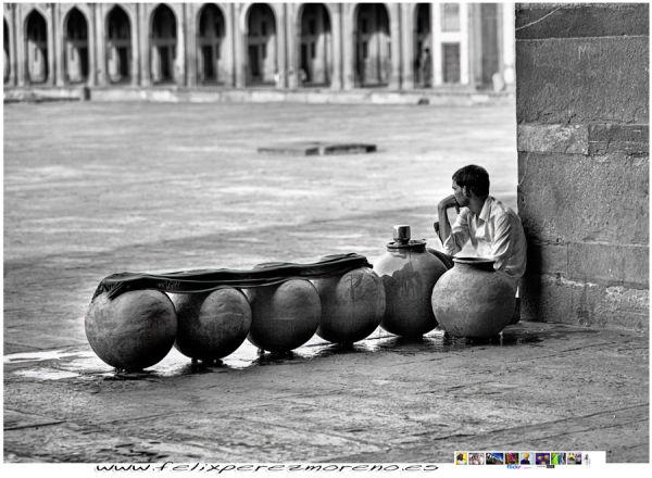 Vendedor de agua de la mezquita