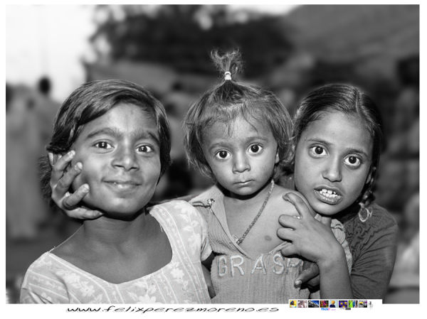 Street childs of India